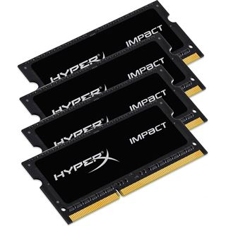 16GB HyperX Impact DDR4-2133 SO-DIMM CL14 Quad Kit