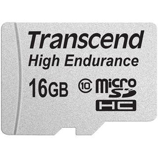 16 GB Transcend TS16GUSDHC10V microSDHC Class 10 Retail inkl. Adapter