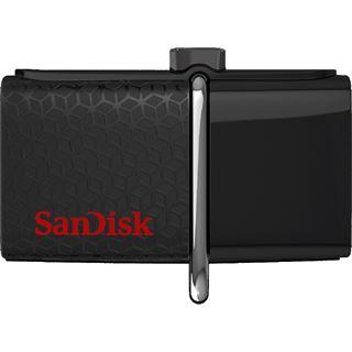 128 GB SanDisk Ultra Dual schwarz USB 3.0 und microUSB