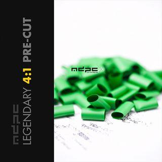 MDPC-X Pre-Cut Schrumpfschlauch 4:1 Small grün 50 Stück