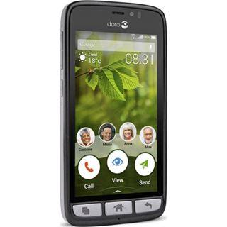 Doro 8031 8 GB schwarz/stahl
