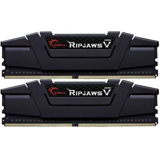 32GB G.Skill RipJaws V schwarz DDR4-3200 DIMM CL15 Dual Kit