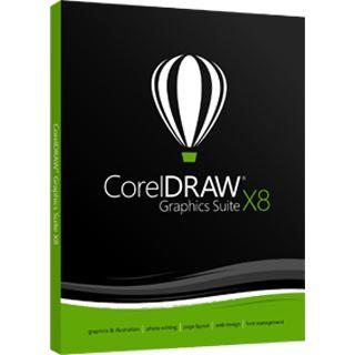 Corel Graphics Suite x8 18.0 UPGRADE deutsch DVD