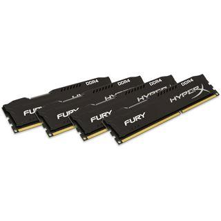 32GB HyperX FURY Rev.2 schwarz DDR4-2133 DIMM CL14 Quad Kit