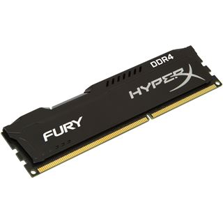 8GB HyperX FURY schwarz Single Rank DDR4-2400 DIMM CL15 Single