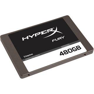 """480GB HyperX FURY 2.5"""" (6.4cm) SATA 6Gb/ MLC asynchron"""