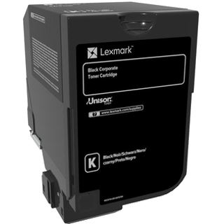 Lexmark Corporate 74C20KE schwarz