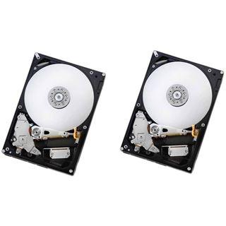 "6000GB Hitachi Deskstar NAS 2er Pack 0S03943 128MB 3.5"" (8.9cm) SATA 6Gb/s"