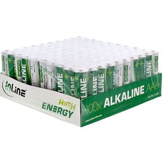 InLine Batterie High Energy 100er AAA Tray