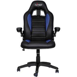 Nitro Concepts C80 Motion Gaming Stuhl - schwarz/blau