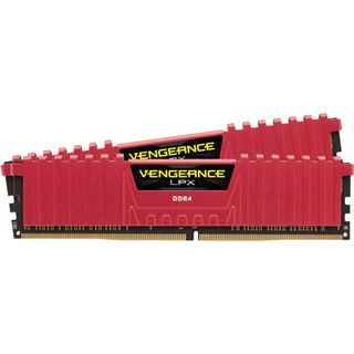 16GB Corsair Vengeance LPX rot DDR4-3200 DIMM CL16 Dual Kit