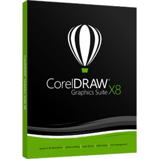 Corel DRAW Graphics Suite X8 EN