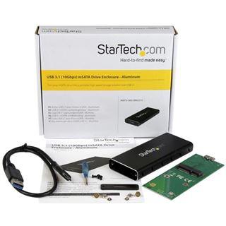 Startech externes Gehäuse für mSATA SSD (SMS1BMU313)
