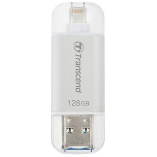 128 GB Transcend JetDrive Go 300 silber USB 3.1 und Lightning