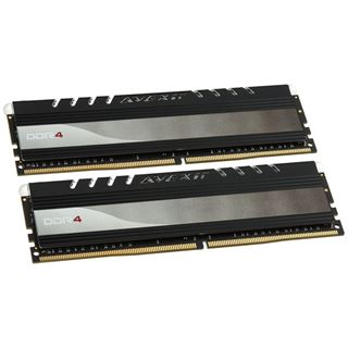 8GB Avexir Core Series blue LED DDR4-2400 DIMM CL16 Dual Kit