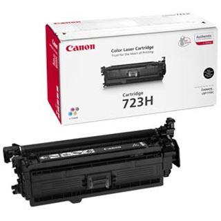 Canon Toner Cartridge 723H schwarz