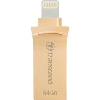 64 GB Transcend JetDrive Go 500 gold USB 3.1 und Lightning