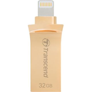32 GB Transcend JetDrive Go 500 gold USB 3.1 und Lightning