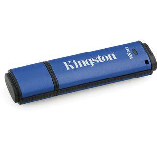 16 GB Kingston Vault Privacy blau USB 3.0