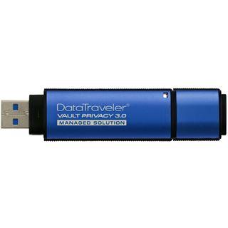 8 GB Kingston DataTraveler Vault Privacy 3.0 blau USB 3.1