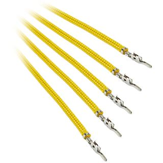 BitFenix Alchemy 2.0 PSU Cable, 5x 20cm - gelb
