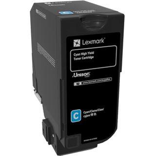 Lexmark CS725 hohe Kapazität cyan
