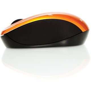 Verbatim Go Nano Maus USB orange (kabellos)