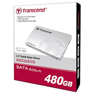 "240GB Transcend SSD220 2.5"" (6.4cm) SATA 6Gb/s TLC"