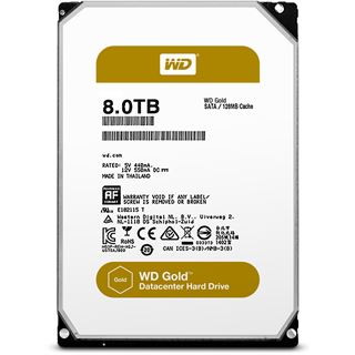 "8000GB WD Gold WD8002FRYZ 128MB 3.5"" (8.9cm) SATA 6Gb/s"