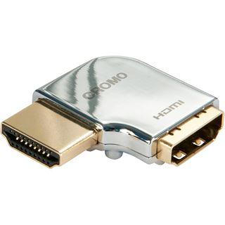 Lindy CROMO HDMI Adapter, 90 Grad Links