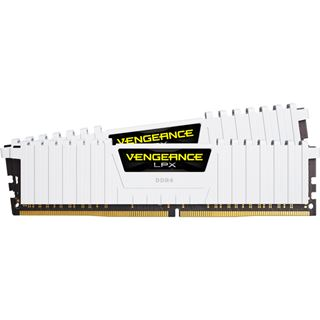 32GB Corsair Vengeance LPX weiß DDR4-3000 DIMM CL15 Dual Kit