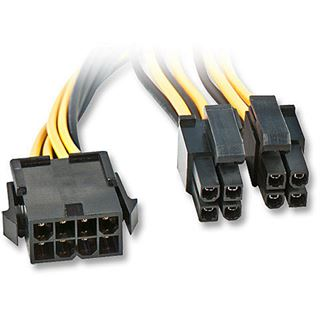 Lindy EPS12V/eATX/BTX 12V Verl.kabel, 0,4m