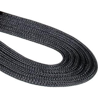 BitFenix 3-Pin Verlängerung 60cm - sleeved schwarz/schwarz