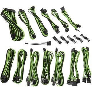 BitFenix Alchemy 2.0 PSU Cable Kit, SSC-Series - schwarz/grün