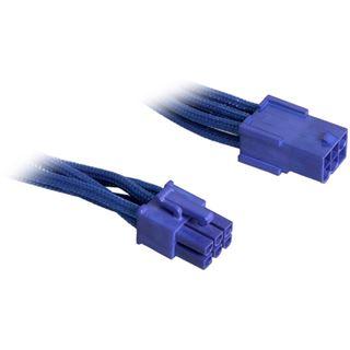 BitFenix 6-Pin PCIe Verlängerung 45cm - sleeved blau/blau