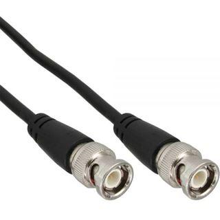 (€0,44*/1m) 25.00m InLine BNC Anschlusskabel BNC Stecker auf BNC