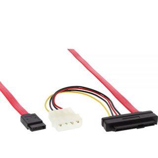 (€15,80*/1m) 0.50m InLine SAS 6Gb/s Adapterkabel SATA Stecker