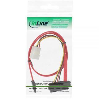 (€15,90*/1m) 0.50m InLine SAS 6Gb/s Adapterkabel SATA Stecker