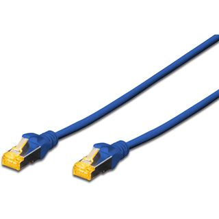 (€1,09*/1m) 10.00m Digitus Cat. 6a Patchkabel S/FTP RJ45 Stecker