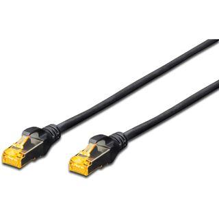(€7,80*/1m) 0.50m Digitus Cat. 6a Patchkabel S/FTP RJ45 Stecker