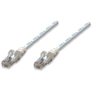(€1,95*/1m) 2.00m Intellinet Cat. 5e Patchkabel U/UTP RJ45 Stecker auf RJ45 Stecker Weiß