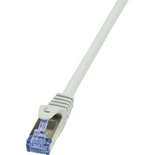(€3,90*/1m) 1.00m LogiLink Cat. 6a Patchkabel S/FTP PiMF RJ45
