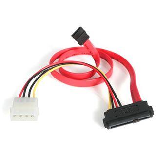 (€26,44*/1m) 0.45m Startech SAS Adapterkabel SATA Stecker auf