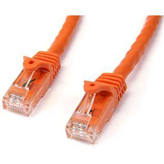 (€1,78*/1m) 5.00m Startech Cat. 6 Patchkabel U/UTP RJ45 Stecker auf RJ45 Stecker Orange