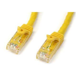 (€3,95*/1m) 2.00m Startech Cat. 6 Patchkabel U/UTP RJ45 Stecker auf RJ45 Stecker Gelb