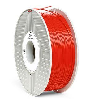Verbatim Filament 3D Drucker 1.75mm 1kg ABS rot (55013)
