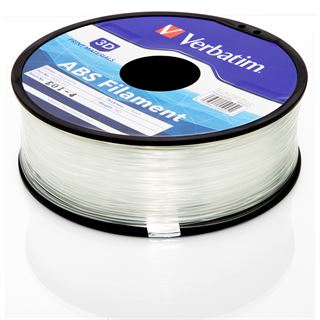 Verbatim Filament 3D Drucker 1.75mm 1kg ABS natur transparent