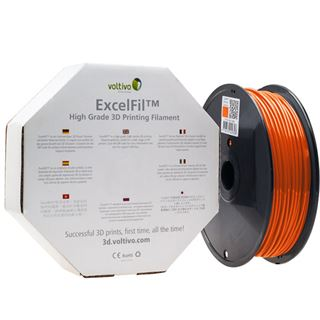 Voltivo ExcelFil 3D Druck Filament, ABS, 1,75mm - orange