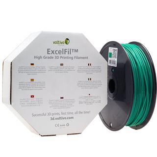 Voltivo ExcelFil 3D Druck Filament, ABS, 3mm - grün