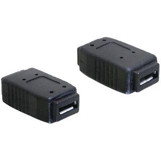 Delock USB Adapter micro A+B -> micro A+B Bu/Bu